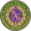 Kappa Delta Pi- International Honor Society in Education